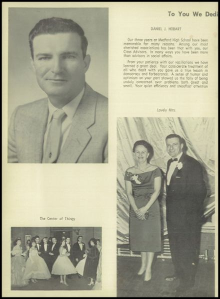 1960 Medford High School Yearbook Page 8