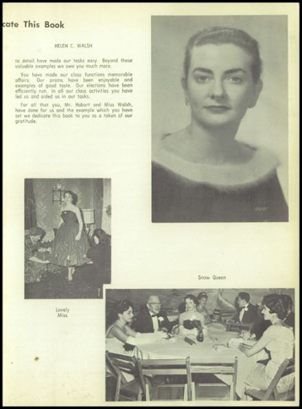1960 Medford High School Yearbook Page 9