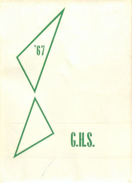 1967 Girls' High School Yearbook Cover