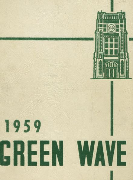 1959 Long Branch High School Yearbook Cover