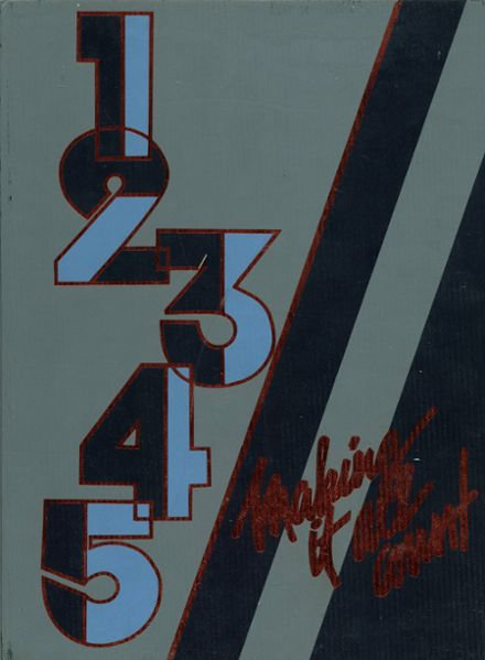 1986 Argo Community High School Yearbook Cover