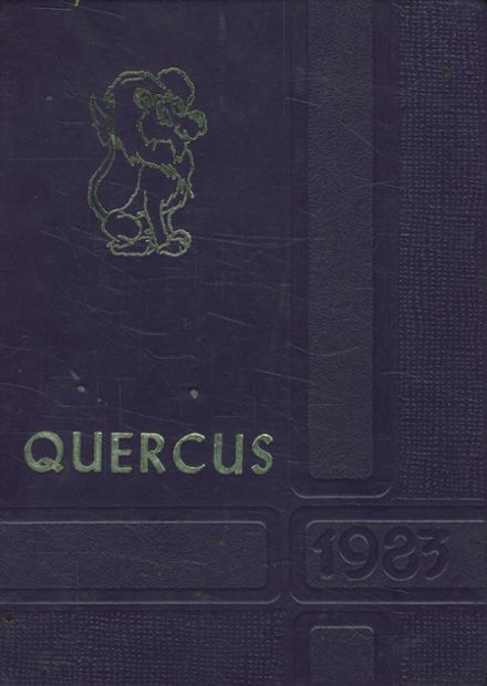 1983 Live Oak High School Yearbook Cover