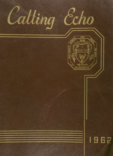 1962 St. Hubert Catholic High School Yearbook Cover