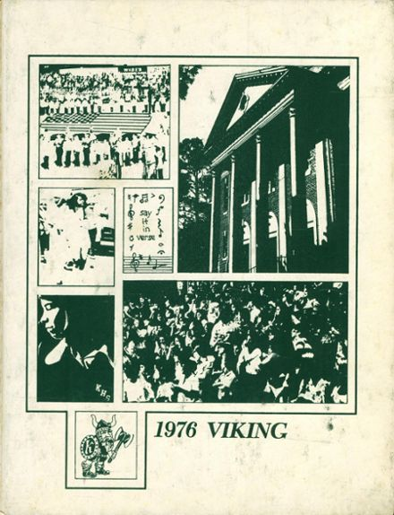 1976 Kinston High School Yearbook Cover
