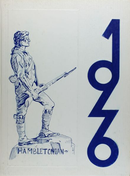 1976 Chester High School Yearbook Cover