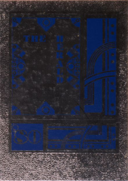 1980 St. John's High School Yearbook Cover