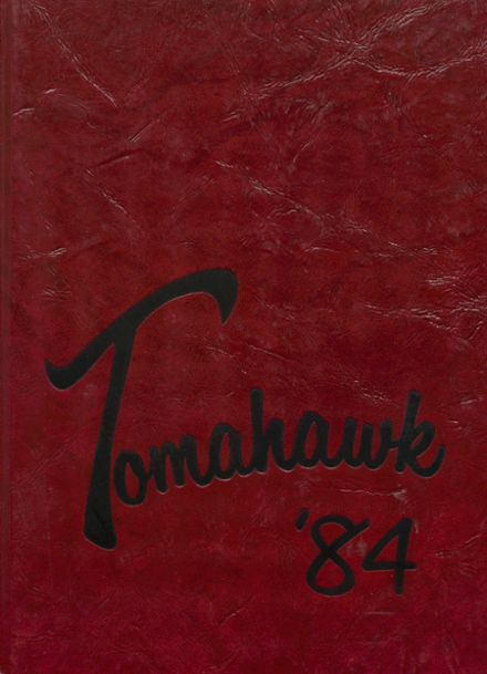 1984 Comanche High School Yearbook Cover