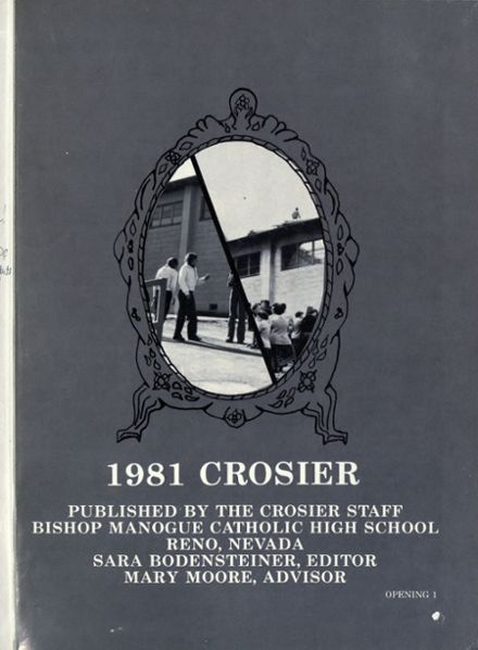 1981 Bishop Manogue High School Yearbook Page 4