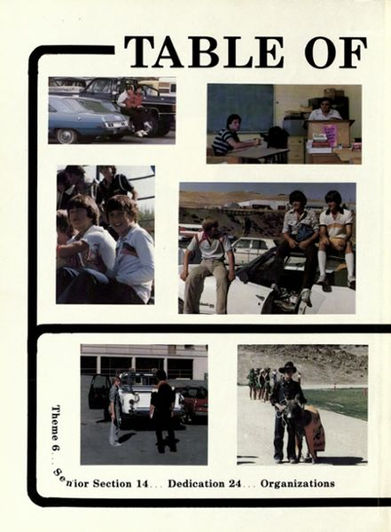 1981 Bishop Manogue High School Yearbook Page 5