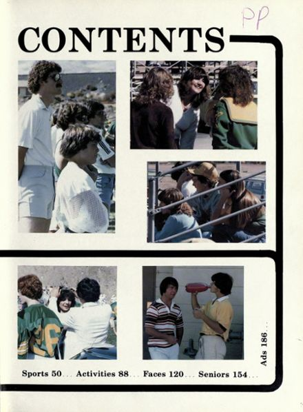1981 Bishop Manogue High School Yearbook Page 6