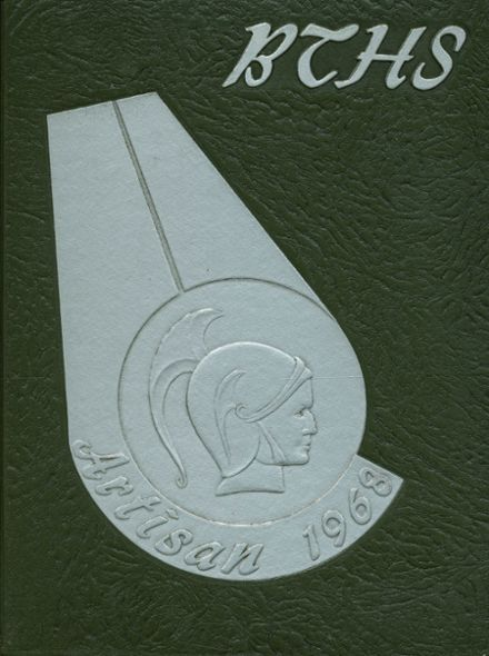 1968 Boys Trade & Tech High School Yearbook Cover