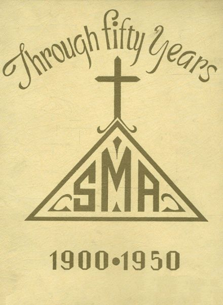 1950 St. Mary's Academy Yearbook Cover