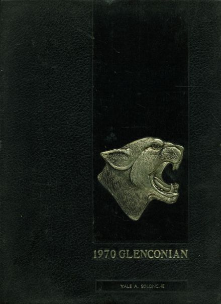 1970 Glen Rock High School Yearbook Cover