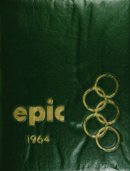 1964 Olympia High School Yearbook Cover