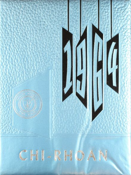 1964 Reicher Catholic High School Yearbook Cover