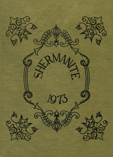 1973 Sherman High School Yearbook Cover
