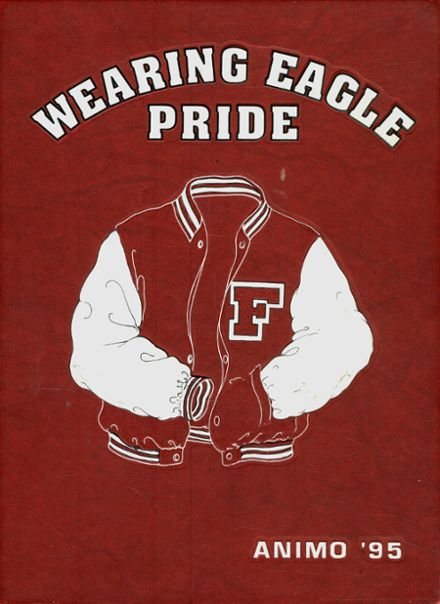1995 Franklin County High School Yearbook Cover