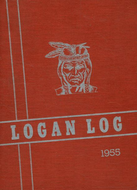 1955 Armagh Brown Joint High School Yearbook Cover