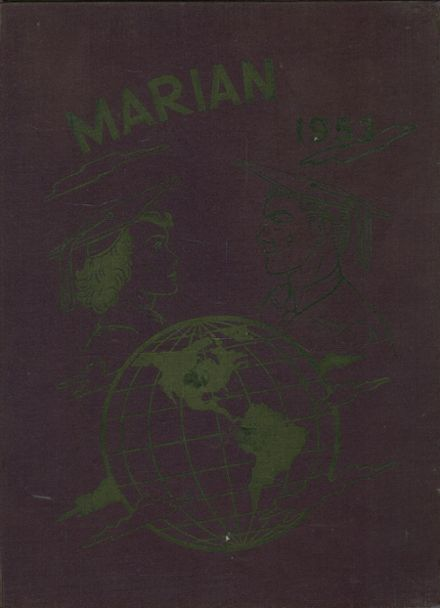 1953 St. Mary's High School Yearbook Cover