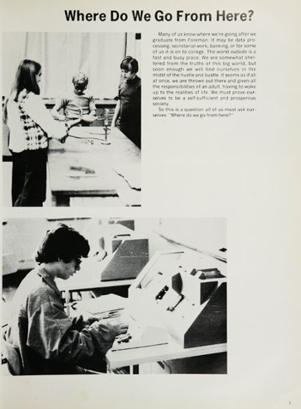 1975 Foreman High School Yearbook Page 7