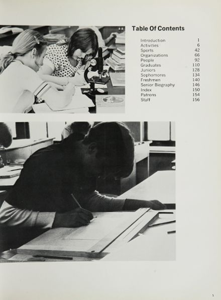 1975 Foreman High School Yearbook Page 9