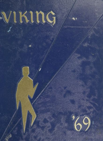 1969 Walled Lake Consolidated School Yearbook Cover