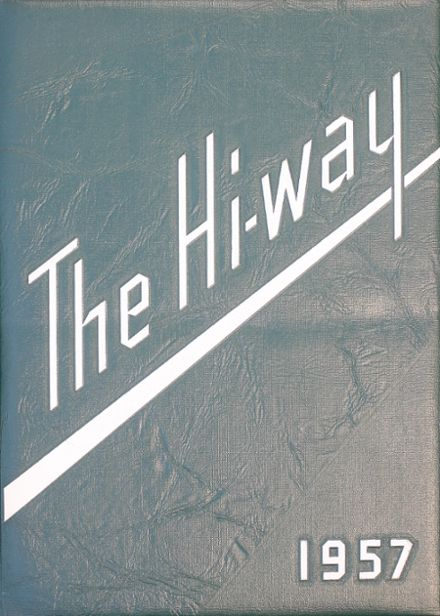 1957 St. Joseph's High School Yearbook Cover