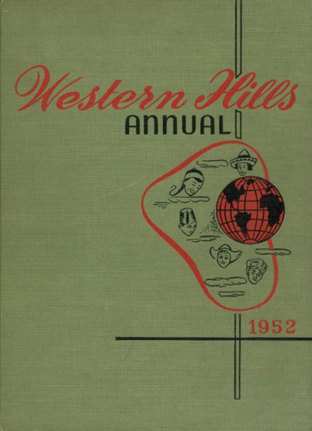 1952 Western Hills High School Yearbook Cover