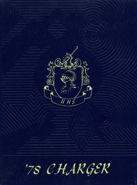 1978 Union High School Yearbook Cover