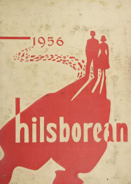 1956 Hillsborough High School Yearbook Cover
