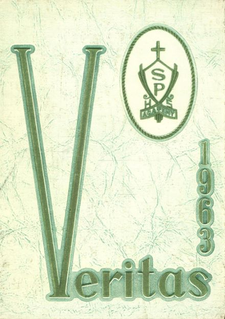 1963 St. Peter's Academy Yearbook Cover