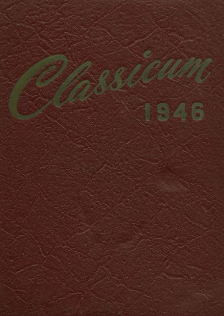 1946 Ogden High School Yearbook Cover
