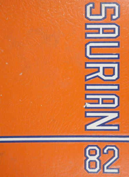 1982 Palm Beach Gardens High School Yearbook Cover