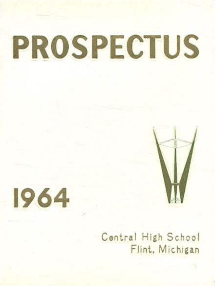 1964 Central High School Yearbook Cover