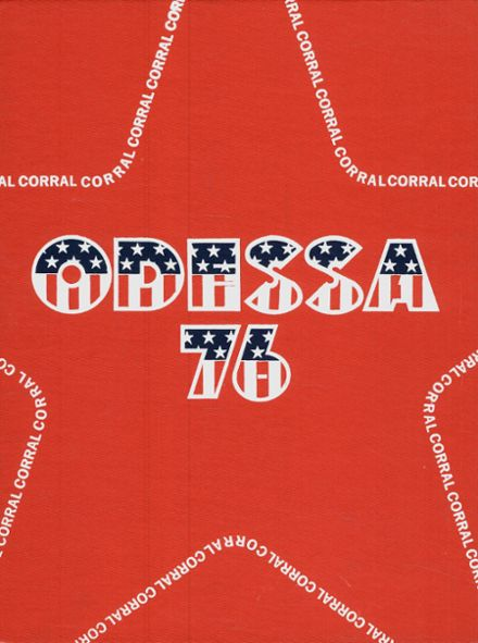 1976 Odessa High School Yearbook Cover