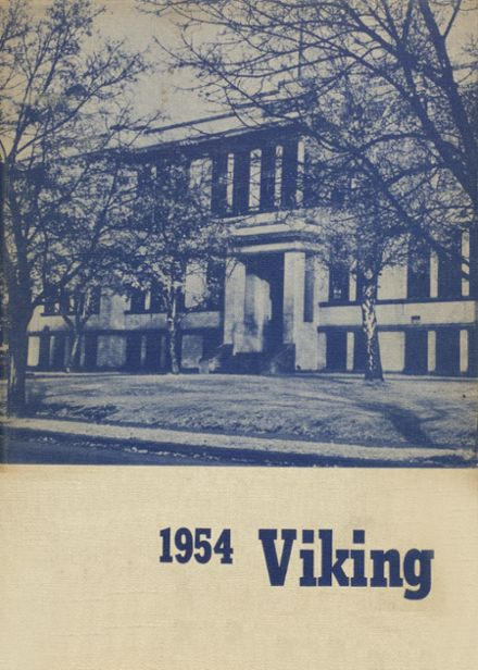 1954 Coeur d' Alene High School Yearbook Cover