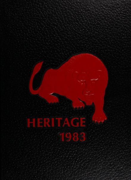 1983 Dulaney High School Yearbook Cover