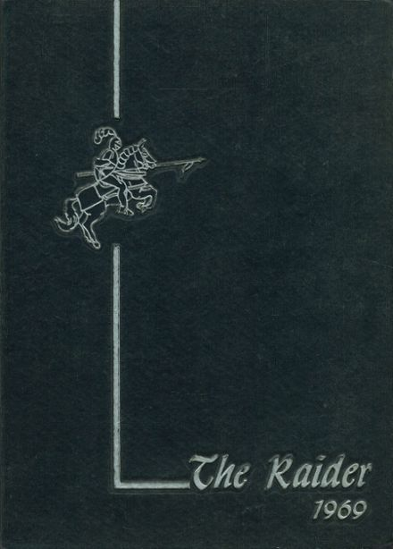 1969 Somerset High School Yearbook Cover