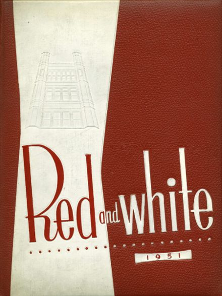 1951 Lake View High School YEARBOOK - Chicago, IL