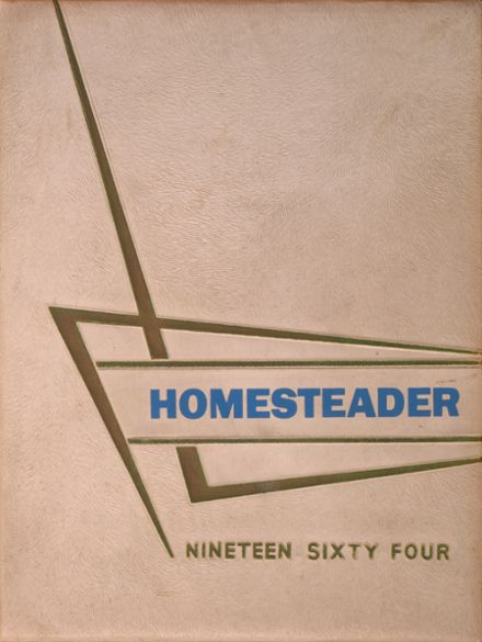 1964 Homestead High School Yearbook Cover