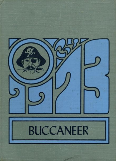 1973 Tonkawa High School Yearbook Cover