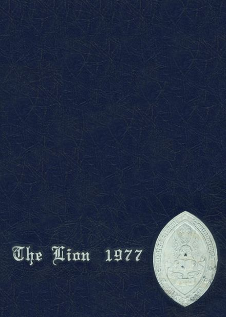 1977 St. Mark's High School Yearbook Cover