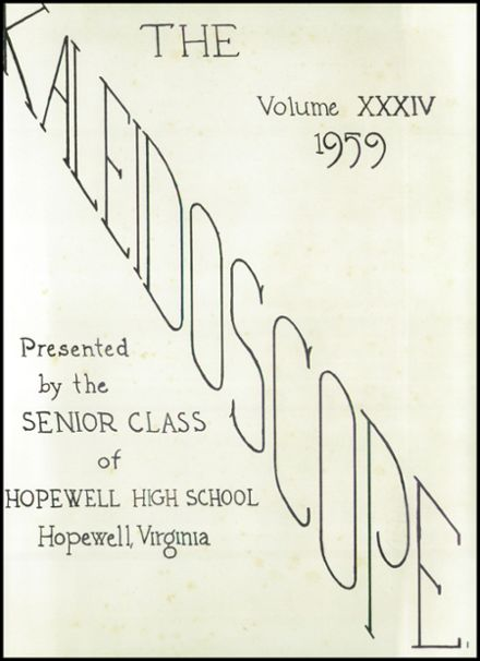 1959 Hopewell High School Yearbook Page 5