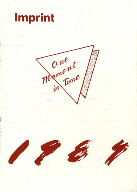 1989 Orchard View High School Yearbook Cover