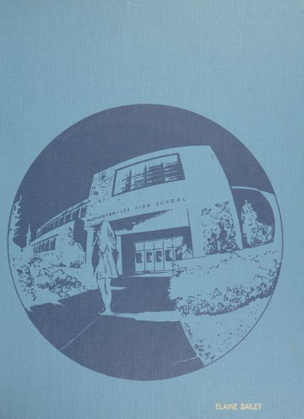 1973 Washington - Lee High School Yearbook Cover