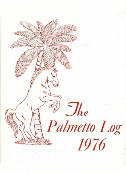 1976 Palmetto High School Yearbook Cover