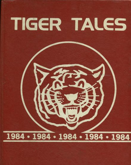 1984 Eufaula High School Yearbook Cover