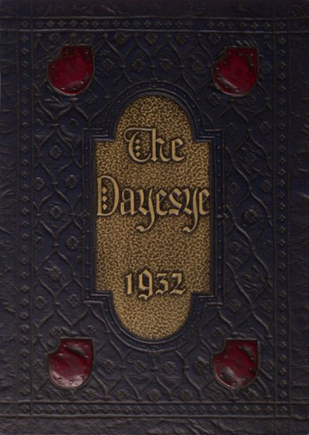 1932 St. Margaret's High School Yearbook Cover