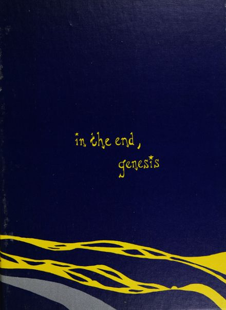 1972 Wenatchee High School Yearbook Cover