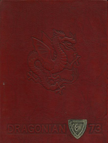 1973 St. Albans High School Yearbook Cover